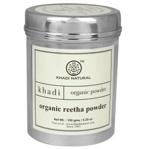 Buy Khadi Natural Organic Reetha Powder - Nykaa