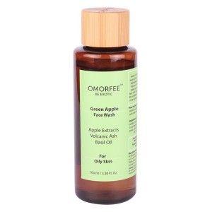 Buy OMORFEE Green Apple Face Wash - Nykaa
