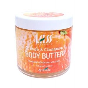 Buy Lass Naturals Orange and Cinnamon Body Butter - Nykaa