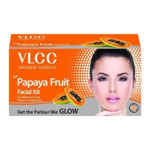 Buy VLCC Papaya Fruit Facial Kit - Nykaa