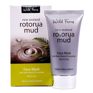 Buy Wild Ferns Rotorua Mud Face Mask With Aloe Vera & Cucumber  - Nykaa