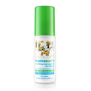 Buy Mamaearth Soothing Massage Oil for Babies - Nykaa