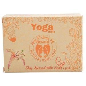 Buy Yoga India Pure Essential Oil Natural Body Sun Sign Soap - Gemini - Nykaa