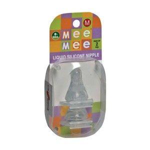 Buy Mee Mee Baby Nipple - White (2 Pieces) - Nykaa