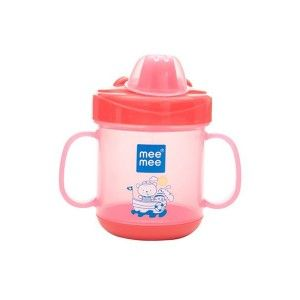 Buy Mee Mee Baby No Spill Sipper Cup - Red - Nykaa