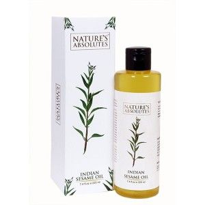Buy Nature's Absolutes Indian Sesame Oil - Nykaa
