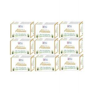 Buy BeSure Aloe Vera Soap - Pack Of 9 - Nykaa