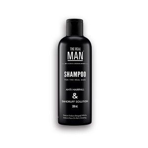 Buy The Real Man Anti Hair Fall & Dandruff Solution Shampoo - Nykaa