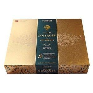 Buy Zenvista Gold Collagen & Cell Renewal Advance Facial Kit - Nykaa