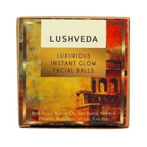 Buy Lushveda Luxurious Instant Glow Facial Balls - Nykaa