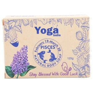 Buy Yoga India Pure Essential Oil Natural Body Sun Sign Soap - Pisces - Nykaa