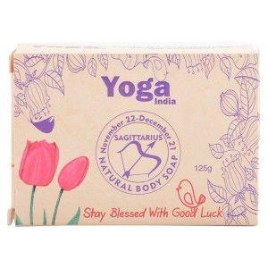 Buy Yoga India Pure Essential Oil Natural Body Tulip & Lavender Soap - Sagittarius - Nykaa