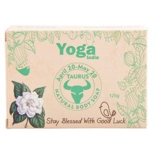Buy Yoga India Pure Essential Oil Natural Body Sun Sign Soap - Taurus - Nykaa