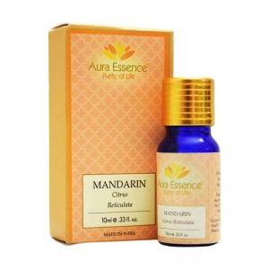 Buy Aura Essence Pure Mandarin Essential Oil - Nykaa