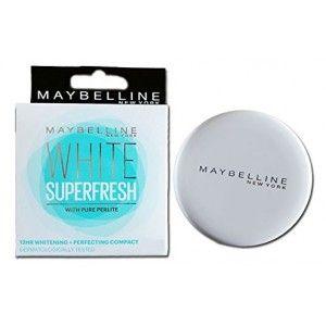 Buy Maybelline New York White Super Fresh Compact - Nykaa