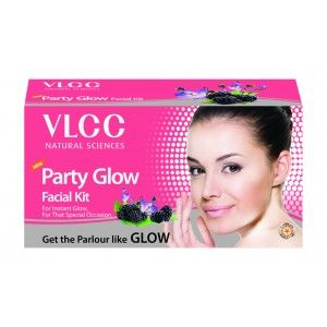 Buy VLCC Party Glow Single Facial Kit (Salon Series)+(Natural Sciences) - Nykaa