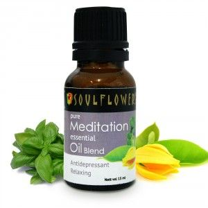 Buy Soulflower Meditation Essential Oil - Nykaa