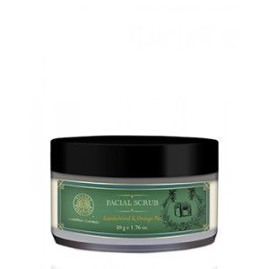 Buy Forest Essentials Facial Scrub - Sandalwood & Orange Peel - Nykaa