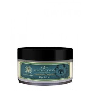 Buy Forest Essentials Night Treatment Cream - Sandalwood & Orange Peel - Nykaa