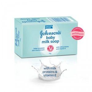 Buy Johnson's Baby Milk Soap - Nykaa