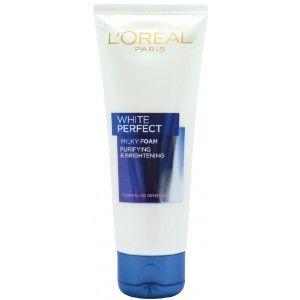 Buy L'Oreal Paris White Perfect Facial Milky Foam 100ml - Nykaa