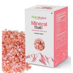 Buy NutroActive Mineral Salt Himalayan Pink Coarse Grain (5-8 mm) - Nykaa