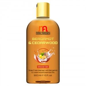 Buy Man Arden Bergamot & Cedarwood Shower Gel - Nykaa