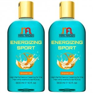 Buy Man Arden Energizing Shower Gel (Pack of 2) - Nykaa