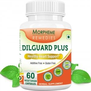 Buy Morpheme Remedies Dilguard Plus for Healthy Heart Support - 500mg Extract - Nykaa