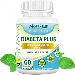 Buy Morpheme Remedies Diabeta Plus Natural Blood Glucose Health - 500mg Extract - Nykaa