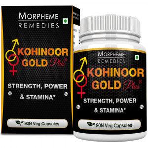 Buy Morpheme Kohinoor Gold Plus 500mg Extract - 90 Veg Caps. - Nykaa