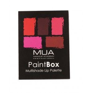 Buy MUA Paint Box Lip Palette - Nykaa