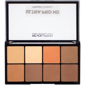 Buy Makeup Revolution HD Pro Ultra Powder Contour Palette - Nykaa
