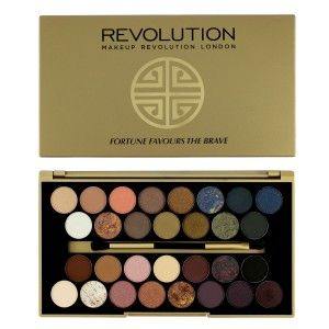 Buy Makeup Revolution Fortune Favours The Brave 30 Eyeshadow - Nykaa