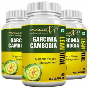 Buy MuscleXP Garcinia Cambogia Lean Vital Capsule (Pack Of 3) - Nykaa