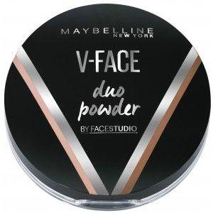 Buy Maybelline New York V-Face Duo Powder - Nykaa