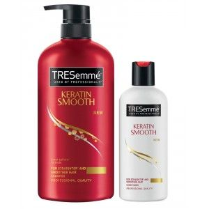 Buy Tresemme Keratin Smooth Infusing Shampoo 580 ml + 85 ml Conditioner - Nykaa