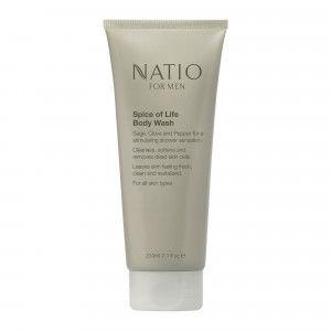 Buy Natio For Men Spice of Life Body Wash - Nykaa