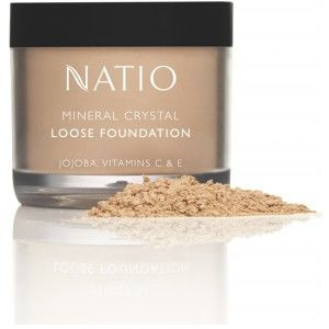 Buy Natio Mineral Crystal Loose Foundation - Nykaa