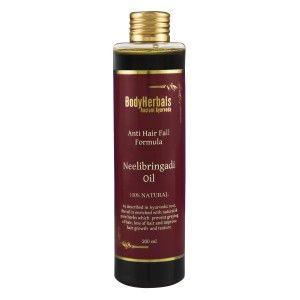 Buy BodyHerbals Ancient Ayurveda Anti Hair Fall Formula Neelibringadi Hair Oil - Nykaa