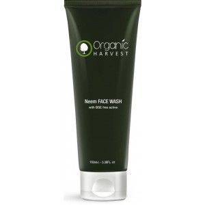 Buy Organic Harvest Neem Face Wash With BSE Free Active - Nykaa