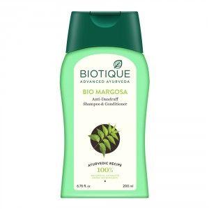 Buy Biotique Bio Margosa Anti-Dandruff Shampoo & Conditioner - Nykaa