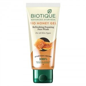 Buy Biotique Bio Honey Gel Refreshing Foaming Face Wash for All Skin Types - Nykaa