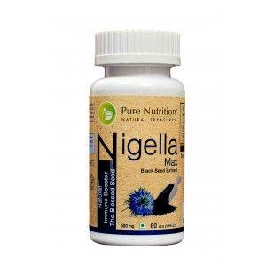 Buy Pure Nutrition Nigella Max 60 Capsules - Nykaa