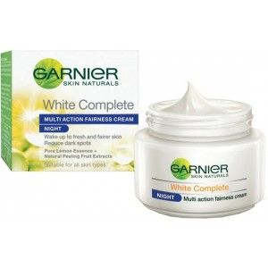 Buy Garnier Skin Naturals White Complete Night Cream  - Nykaa