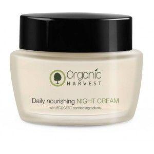 Buy Organic Harvest Daily Nourishing Night Cream - Nykaa