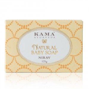 Buy Kama Ayurveda Natural Baby Soap Nirav - Nykaa
