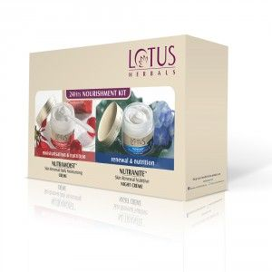 Buy Lotus Herbals 24 Hours Nourishment Kit(Special Offer)(Save Rs.185) - Nykaa