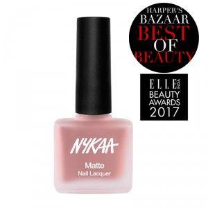 Buy Nykaa Nude Matte Nail Enamel - Nykaa