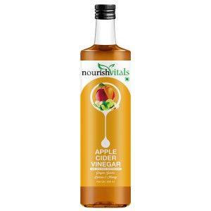 Buy Nourish Vitals Apple Cider Vinegar with Ginger, Garlic, Lemon and Honey - Nykaa